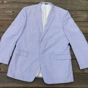 Saddlebred Men Blazer Sport Coat Jacket Two Button
